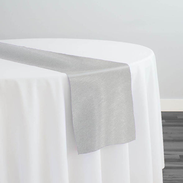 Morocco Jacquard (Reversible) Table Runner in Grey