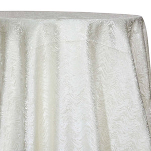Twinkle Tensil Table Linen in Ivory