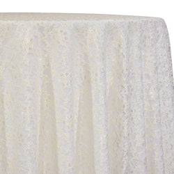 Classic Lace Table Linen in Ivory