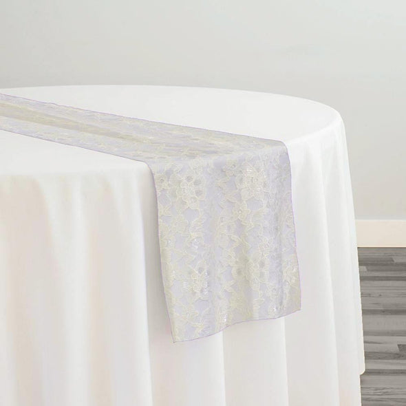 Classic Lace Table Runner in Ivory