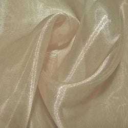 Crystal Organza Table Runner in Khaki 900