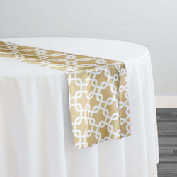 Lynx Print (Lamour) Table Runner in Khaki