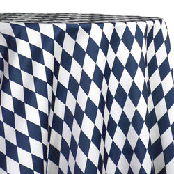 Harlequin Print (Lamour) Table Linen in Navy