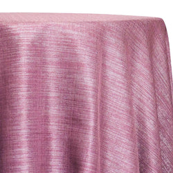 Metallic Burlap (100% Polyester) Table Linen in Orchid