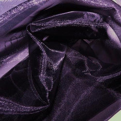 Crystal Organza Table Linen in Eggplant 387