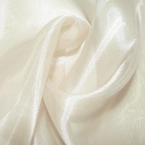 Crystal Organza Table Runner in Ivory 605