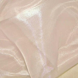 Crystal Organza Table Runner in Peach 705