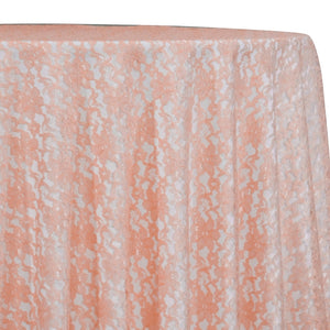 Classic Lace Table Linen in Peach 4122