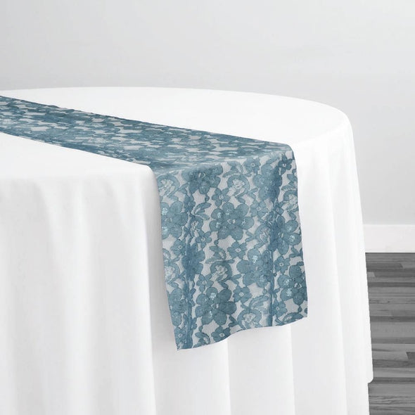 Classic Lace Table Runner in Peacock 6777