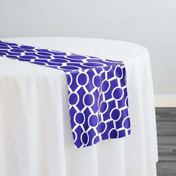 Halo Print (Lamour) Table Runner in Purple