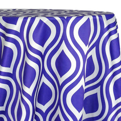 Groovy Print (Lamour) Table Linen in Purple