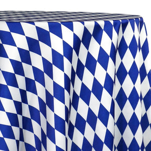 Harlequin Print (Lamour) Table Linen in Royal