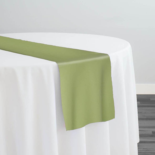 Scuba (Wrinkle-Free) Table Runner in Sage 503