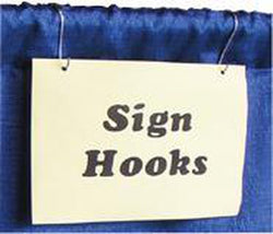 Sign Hooks - S Hooks (12 Pack)