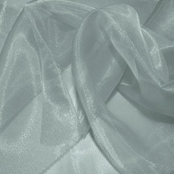Crystal Organza Table Runner in Silver 220