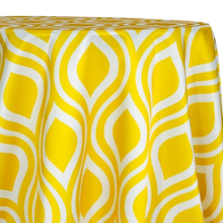 Groovy Print (Lamour) Table Linen in Sorbet