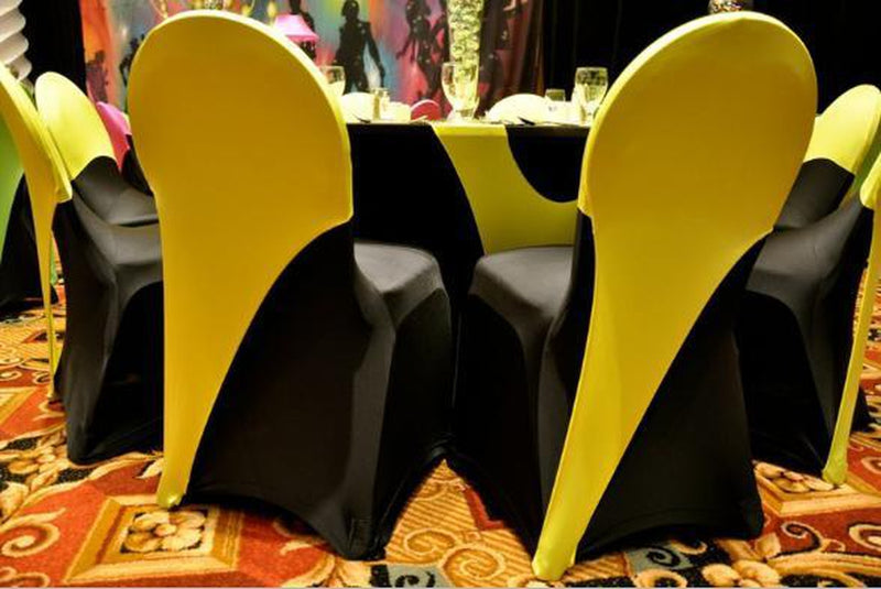 Arched Spandex Chair Back