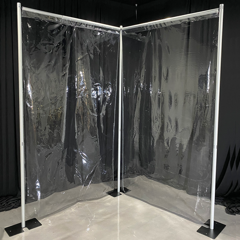 Clear Vinyl Backdrops