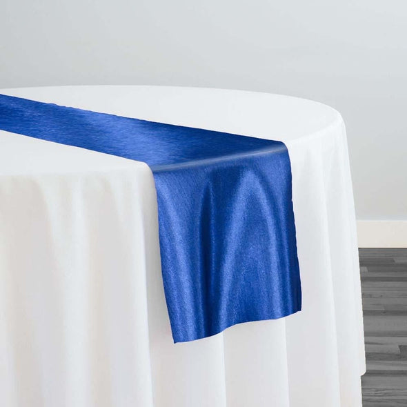Shantung Satin Table Runner in Teal