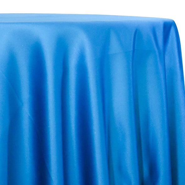 Lamour (Dull) Satin Table Linen in Turquoise 1131