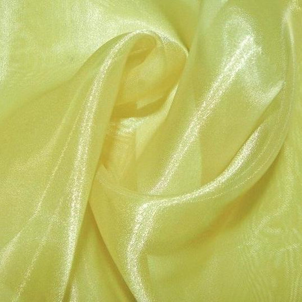 Crystal Organza Table Runner in Yellow 688