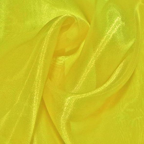 Crystal Organza Table Runner in Yellow 966
