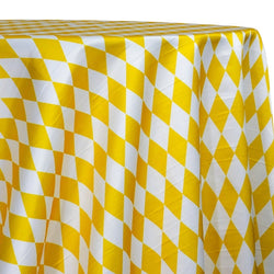 Harlequin Print (Lamour) Table Linen in Yellow
