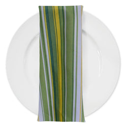 Multi-Color Stripe Table Napkin in Citrus