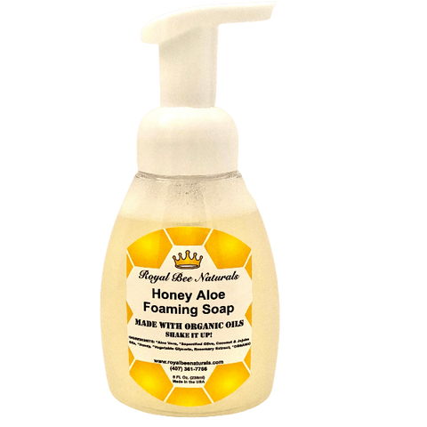 Honey Aloe Foaming Soap