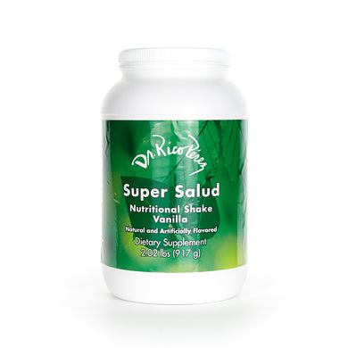 Super Salud - Vanilla - Nutritional shake Vanilla Flavored dietary supplement