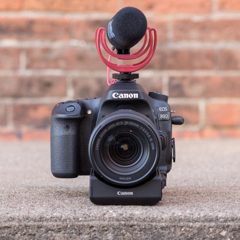 Canon EOS 80D 18-135mm Video Creator Kit