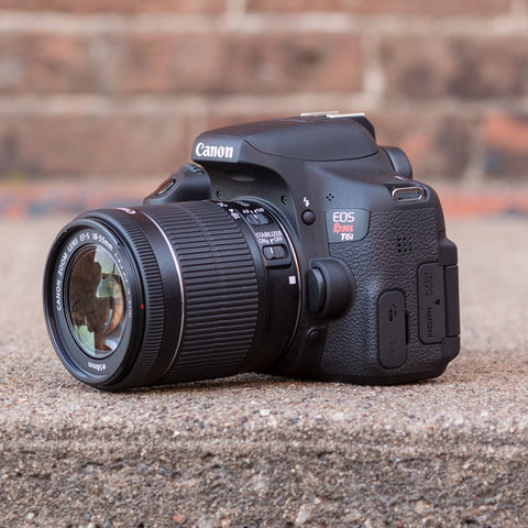 Canon EOS Rebel T6i 18-55mm Kit