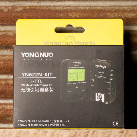 YongNuo YN-622N i-TTL Wireless Flash Transceiver & TX Controller Kit for Nikon