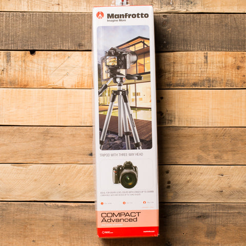 Compact Advanced Tripod by Manfrotto