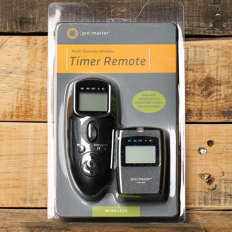 Promaster Multifunction RF Timer Remote