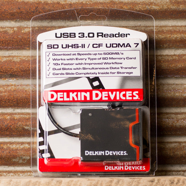 Delkin USB 3.0 SD & CF Reader