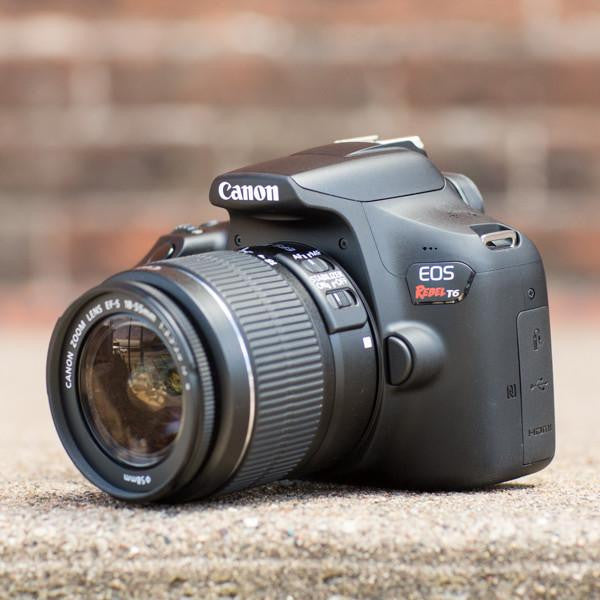 Canon EOS Rebel T6 EF-S 18-55mm, 55-250 STM Lens kit