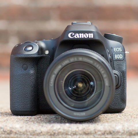 Canon EOS 80D 18-135mm IS USM Kit