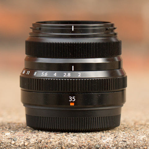 Fujinon XF 35mm f/2 R WR Lens - Black (USED)