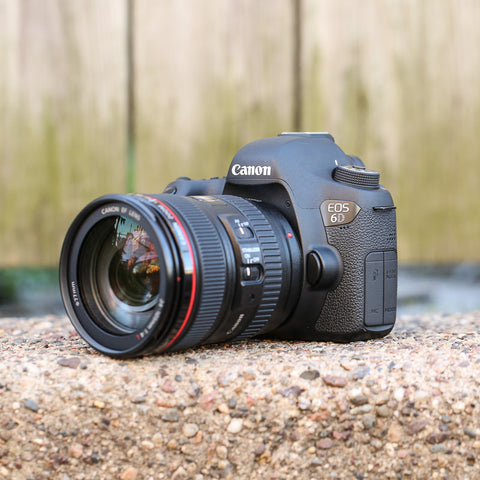 Canon EOS 6D 24-105mm f4L IS USM Lens Kit