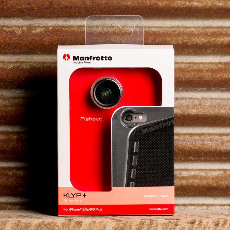 Manfrotto KLYP+ Fisheye Lens Kit for iPhone 5/5s/6/6 Plus