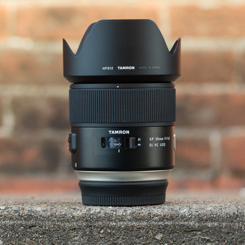 Tamron SP 35mm f1.8 Di VC USD Lens (Canon Mount)