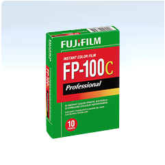 FujiFilm FP-100C Professional Instant Colour Film