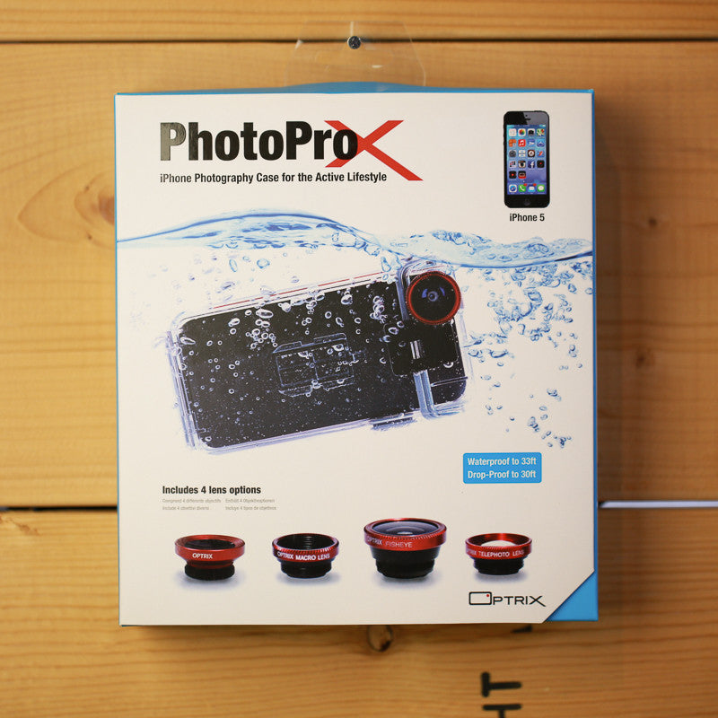 Optrix PhotoProX Kit for iPhone 5