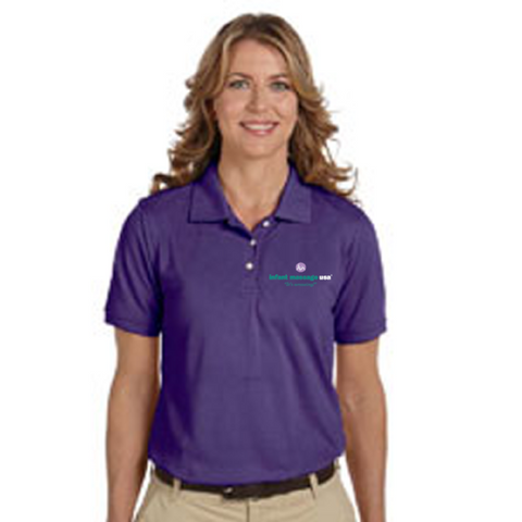 IMUSA Purple Polo Shirt (Women's)