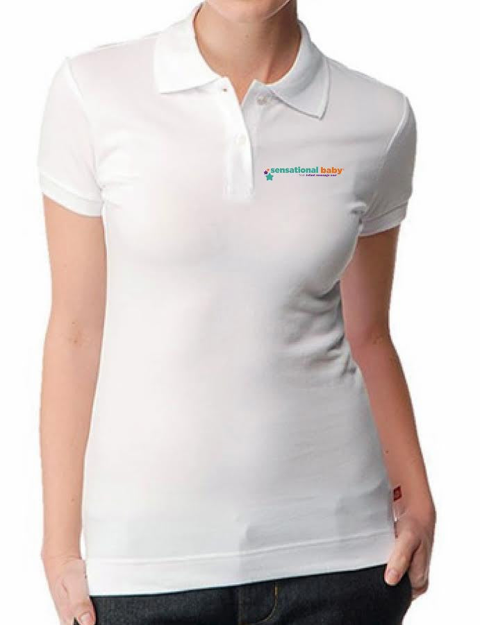 Sensational Baby® White Polo (Unisex)