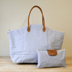 Cotton Weekender with Pouch