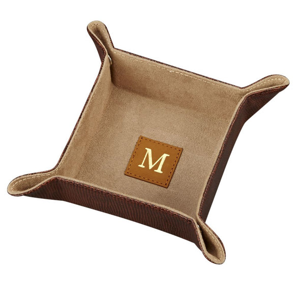 Monogram Square Valets (Snap Trays)