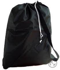 Nylon Laundry Bag with Strap