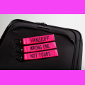 Embroidered Luggage Tags
